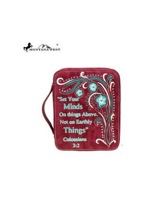 DC017-OT RD Montana West Scripture Bible Verse Collection Bible Cover