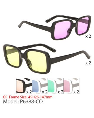 P6388-CO Fashion Sunglasses by Case