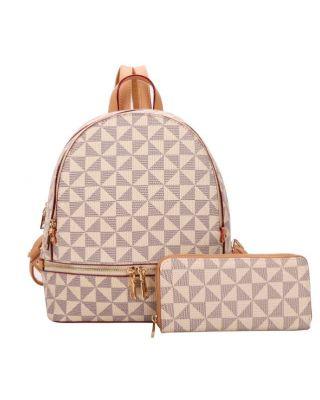 007-7285W TP WITH WALLET BACKPACK