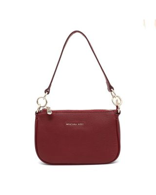 MWL-026 BD Montana West 100% Genuine Leather Clutch/Crossbody
