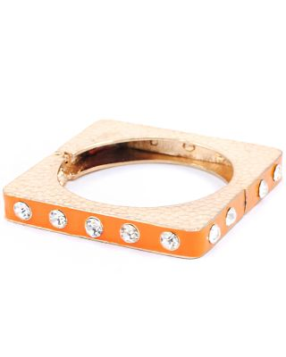 FC-6054 OR Square Bangle Bracelet
