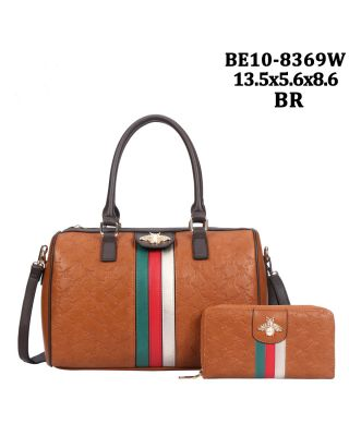BE10-8369W BR WITH WALLET