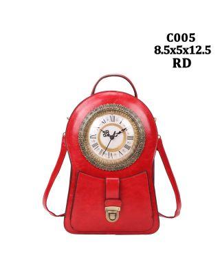 C005 RD BACKPACK CLOCK