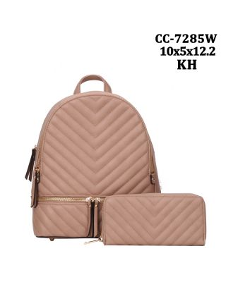 CC-7285W KH WITH WALLET BACKPACK