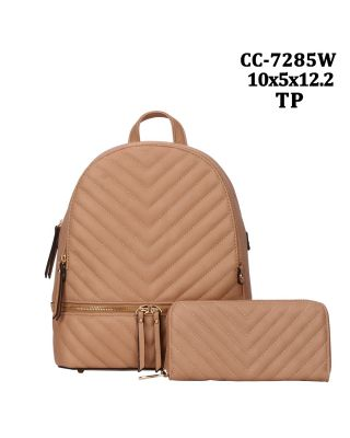 CC-7285W TP WITH WALLET BACKPACK