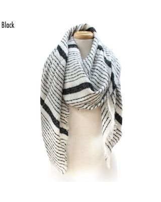 CS6010 Multi-Striped Scarf
