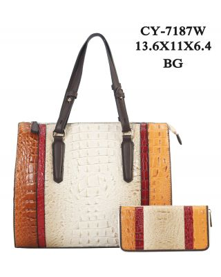 CY-7187W BG WITH WALLET