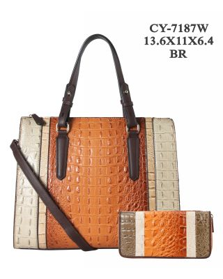 CY-7187W BR WITH WALLET