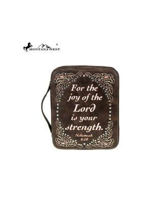 DC018-OT CF Montana West Scripture Bible Verse Collection Bible Cover