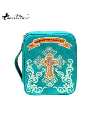 DC-021-OT TQ MONTANA WEST SPIRITUAL COLLECTION BIBLE COVER