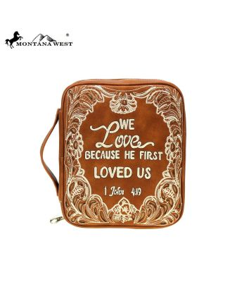 DC-023-OT BR MONTANA WEST SPIRITUAL COLLECTION BIBLE COVER