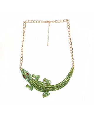 FN-14969-7GR ALLIGATOR NECKLACE