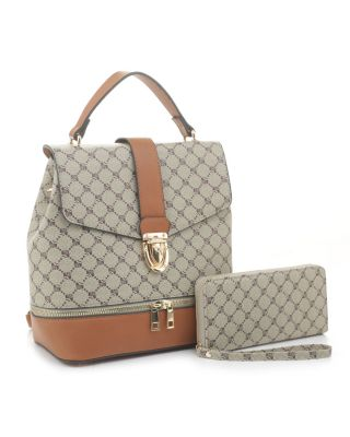 GL-1045WS BR/BR WITH WALLET