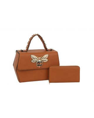 HGSF-0108W-BR WITH WALLET BEE