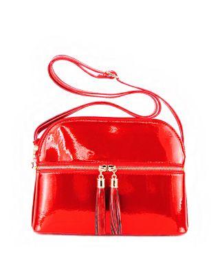 MH050 RD Crossbody Bag Satchel