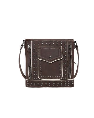 MW1013G-9360 CF Montana West Studded Collection Concealed Carry Crossbody
