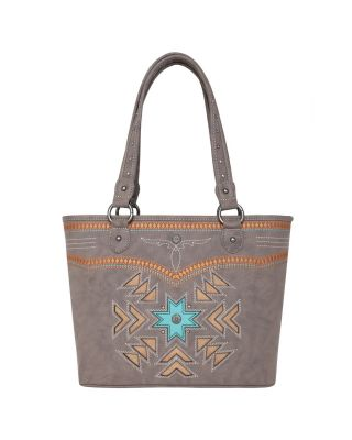 MW1019G-8317 CF Montana West Aztec Collection Concealed Carry Tote