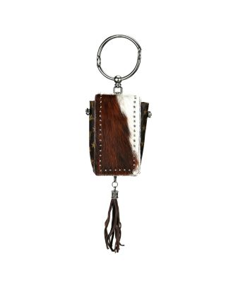MW911-190 CF MONTANA WEST MONOGRAM PHONE WALLET
