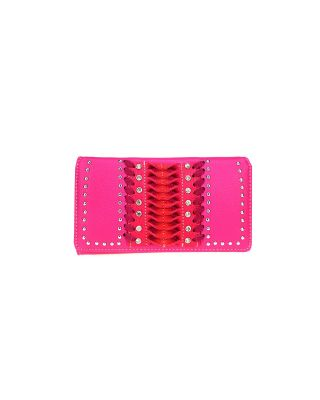 MW943-W010 PK MONTNA WEST CUT-OUT WALLET