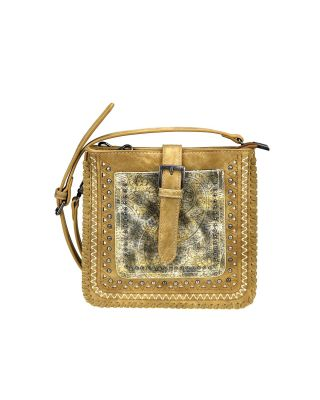 MW947-8360 BG Montana West Buckle Collection Crossbody