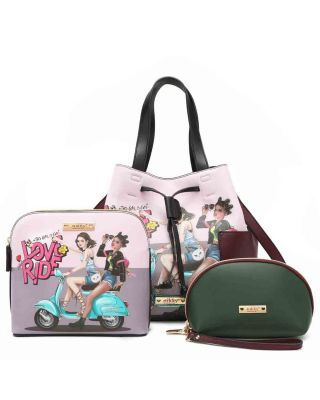 NK12103-T3 NIKKY LOVE RIDE 3PC SETS