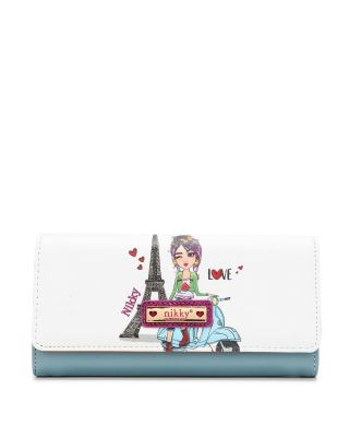 NK20375 SCOOTER S TRIFOLD WALLET