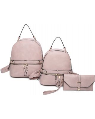 LF21130-T3 PK 2PC BACKPACK WITH WALLET