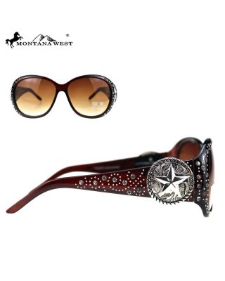 SGS-5603 CF Montana West Western Collection Sunglasses