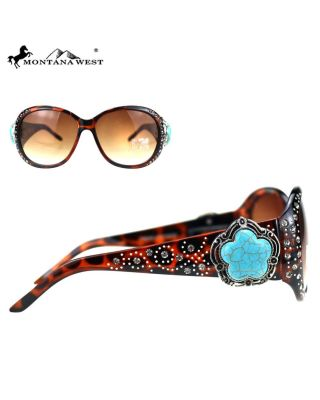 SGS-5606 LP Montana West Western Collection Sunglasses