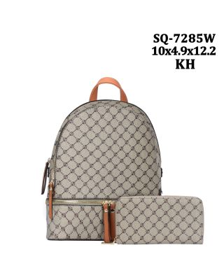 SQ7285W KH backpack with wallet