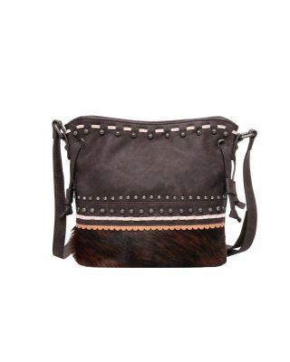 TR120-8360 CF Hair-On Collection Crossbody Bag