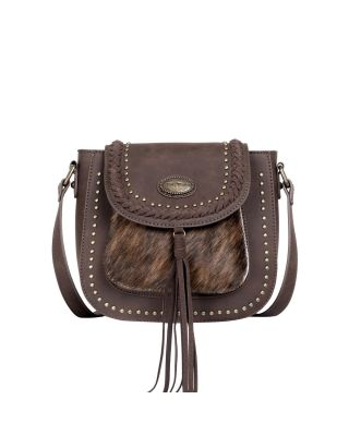 TR128-8360 CF Trinity Ranch Hair-On Collection Crossbody Bag