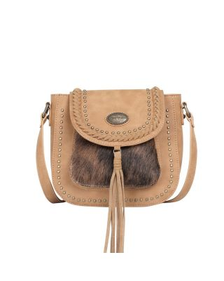 TR128-8360 TN Trinity Ranch Hair-On Collection Crossbody Bag
