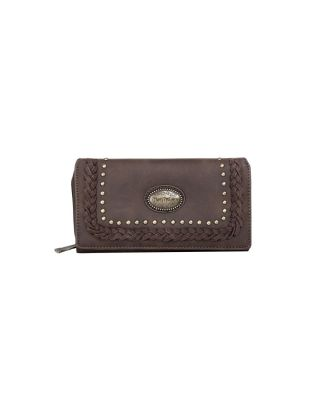 TR128-W010 CF Trinity Ranch Secretary Style Wallet