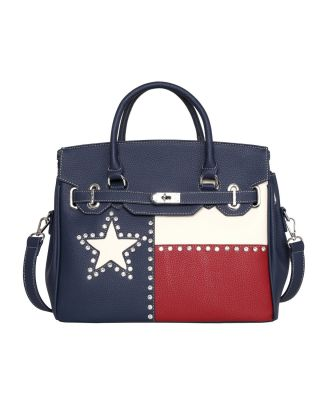 TX14-811 NV Montana West Texas Pride Collection Tote/Crossbody