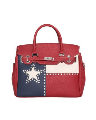 TX14-811 RD Montana West Texas Pride Collection Tote/Crossbody
