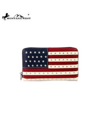 US04-W003 NV Montana West American Pride Collection Wallet