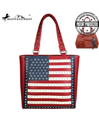 US04G-8113 rd Montana West American Pride Concealed Handgun Collection Tote