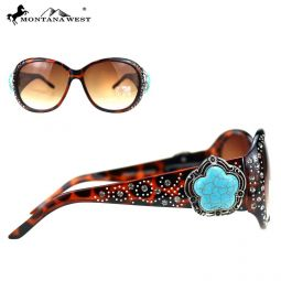 SGS-5601 LP Montana West Western Collection Sunglasses